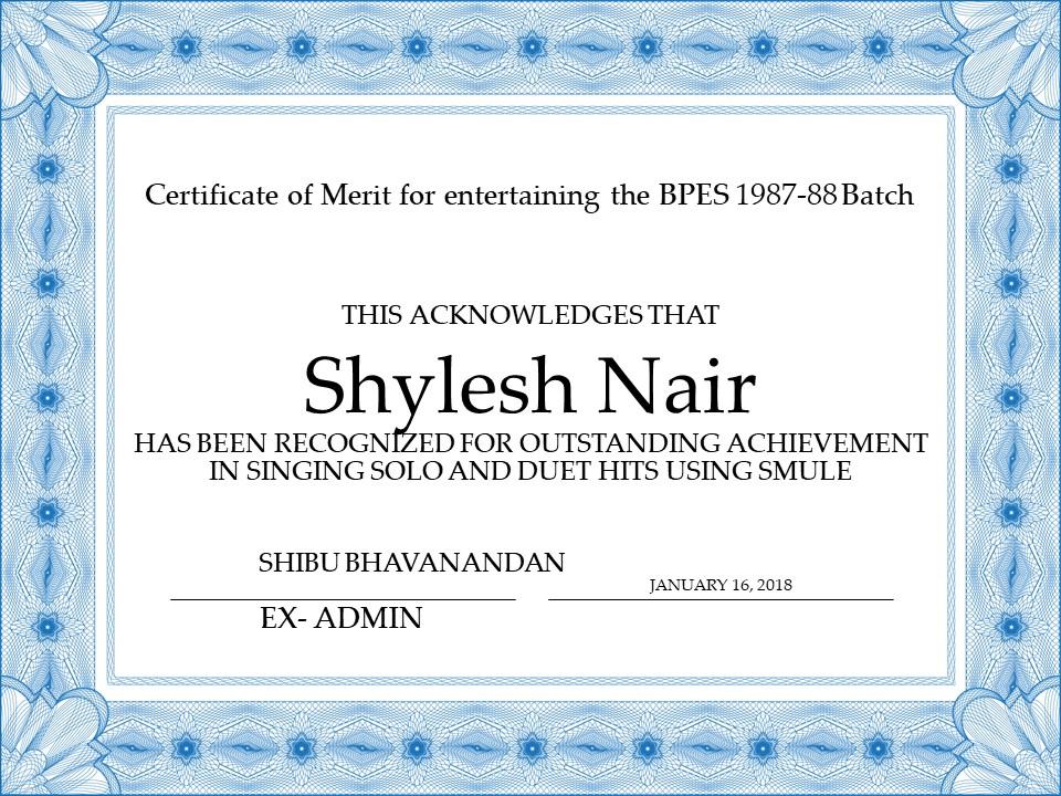 Shylesh Nair